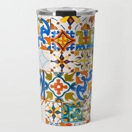 Moroccan Mosaic II Travel Mug