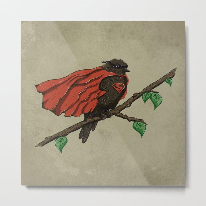Super Bird Metal Print