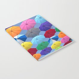 Myriads of Umbrellas Notebook