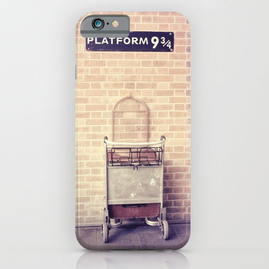 Platform 9 3/4 iPhone & iPod Case