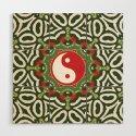 Holiday Festive Balance Yin Yang by webgrrl