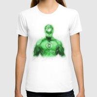 green lantern T-shirts featuring Green Lantern by KitschyPopShop