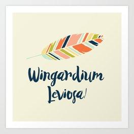 Wingardium leviosa! Art Print