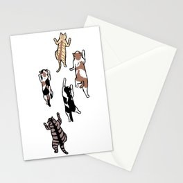Climbing Cats Stationery Cards