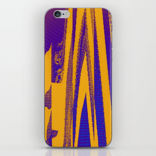 Digital Died/Mustard Jam iPhone & iPod Skin