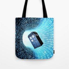 Tardis Time lord Tote Bag