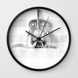 Kitchen Holy Owl Wall Clock