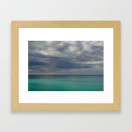 acqua gelida Framed Art Print