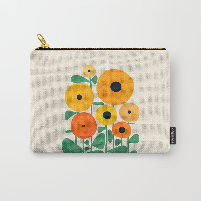 Sunflower and Bee Tasche