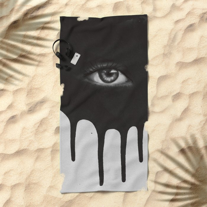 EYE Beach Towel