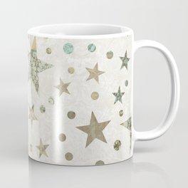 Patchwork Stars Pattern Coffee Mug