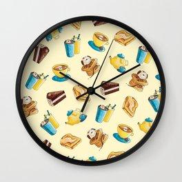Wooferteria Wall Clock
