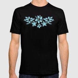 Moloaa Bay Hawaiian Hibiscus Aloha Shirt Print T-shirt