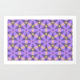 Enlighten Geomtric Name Pattern Art Print