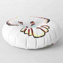 Sad Clown Floor Pillow