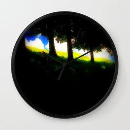 Summer View Wall Clock