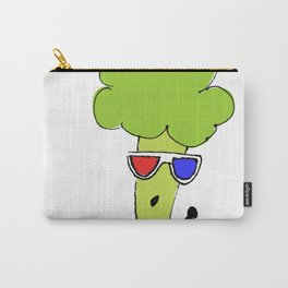 Lady Broccoli in 3D Series pt. 2 Carry-All Pouch