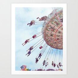 Swing by the Fair Art Print