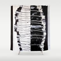 camouflage Shower Curtains featuring Camouflage by RvHART