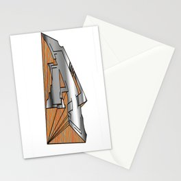 The Letter A Stationery Cards