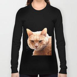 Red cat watching Long Sleeve T-shirt