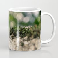 moss Mugs featuring moss by andrea-ioana