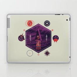 It fell from the stars, It rose from the sea Laptop & iPad Skin