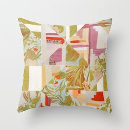 Quiltscape Throw Pillow