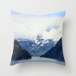 Alaskan Outdoors Throw Pillow