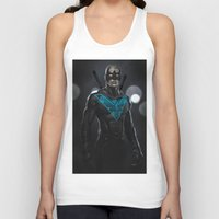 nightwing Tank Tops featuring Nightwing 02 by Yvan Quinet