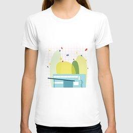 architecture - walter gropius T-shirt