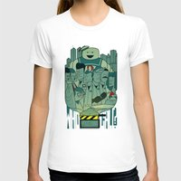 ghostbusters T-shirts featuring Ghostbusters by Ale Giorgini