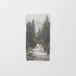 Mountain creek - Landscape and Nature Photography Hand & Bath Towel