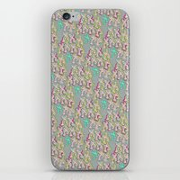 keith haring iPhone & iPod Skins featuring Haring Squiggle by Indigo Images