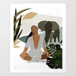 Rayne Art Print