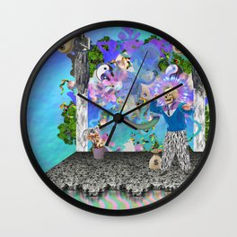 IDEATH Wall Clock