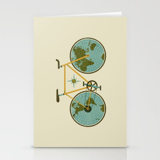Ride For The World Stationery Cards