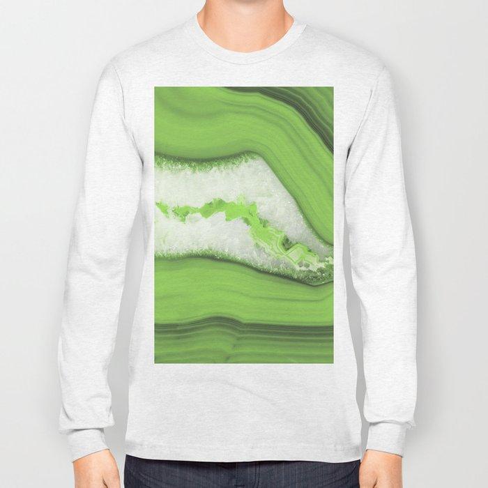 Greenery Agate Long Sleeve T-shirt