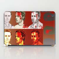 rick grimes iPad Cases featuring Rick Grimes by Zalazny