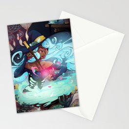 Heart's Witch Stationery Cards