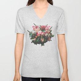 Do Epic Shit flowers bouquet Unisex V-Neck
