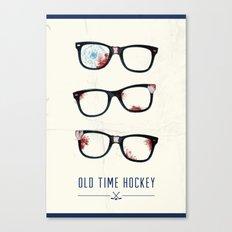 Slapshot - Old Time Hockey Canvas Print