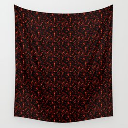 Dark Tortoiseshell Wall Tapestry