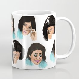 Krying Kylie Jenner Coffee Mug
