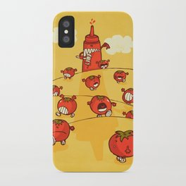We were tomatoes! iPhone Case