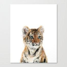 Little Tiger Canvas Print