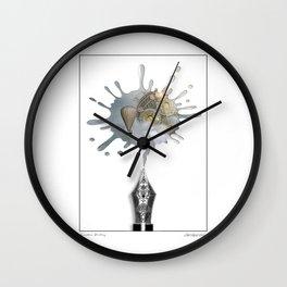 Creative Writing Wall Clock