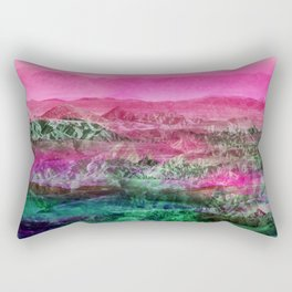 Tropical Desert Rectangular Pillow