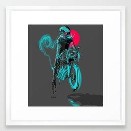 riser Framed Art Print