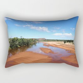 Finke River  Rectangular Pillow